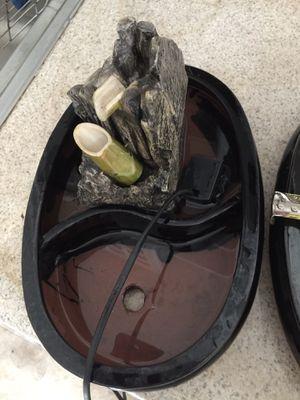 Bonsai Planter Pot with mini water fountain for Sale in Sacramento, CA