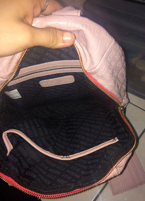 Steve Madden pink backpack