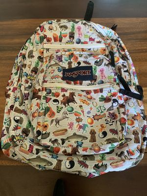 Shape cool graphics jansport backpack for Sale in Portland, OR