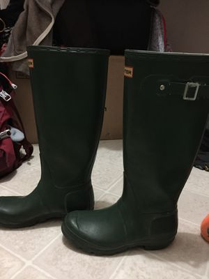 Hunter Rain boots for Sale for Sale in Douglasville, GA