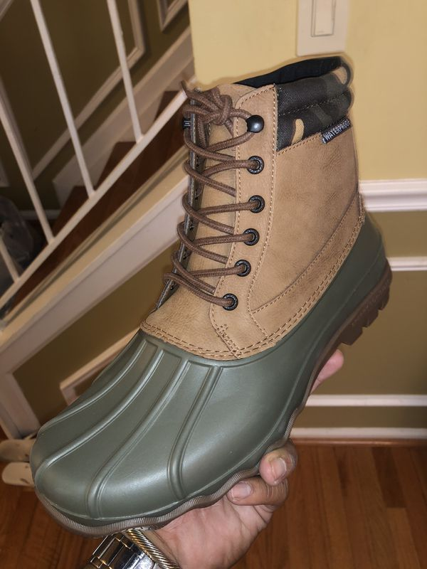 Men's sperry Duck boots brand new never worn size 10