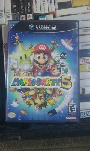 Mario Party 5 Gamecube Wii for Sale in Peoria, AZ