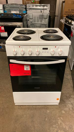 "New! Frigidaire White 24"""" Electric Range Stove Oven 1 Year Manufacturer Warranty for Sale in Chandler, AZ"