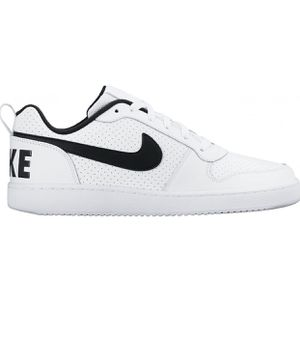 Nike Court Borough Low White/Black 838937-100 Men's Shoes Size 13. Condition is Pre-owned. Worn Once! for Sale in Queens, NY