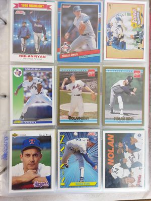 Nolan Ryan Baseball Card Lot for Sale in North Little Rock, AR