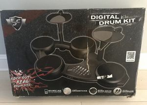 BRAND NEW - First Act 6-Pad Digital Drum Set Kit With Earbuds- Record & Play for Sale in Blackstone, MA