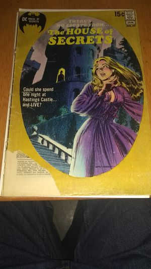 Vintage DC comics The House of Secrets #89 good/fair for Sale in Poway, CA
