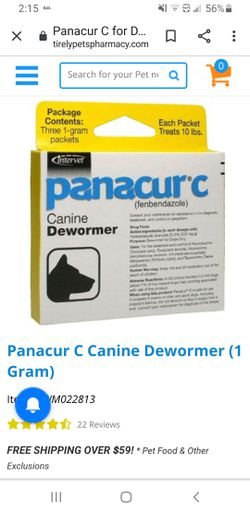 5 NEW Panacur c Dewormer for Sale in Vancouver,  WA