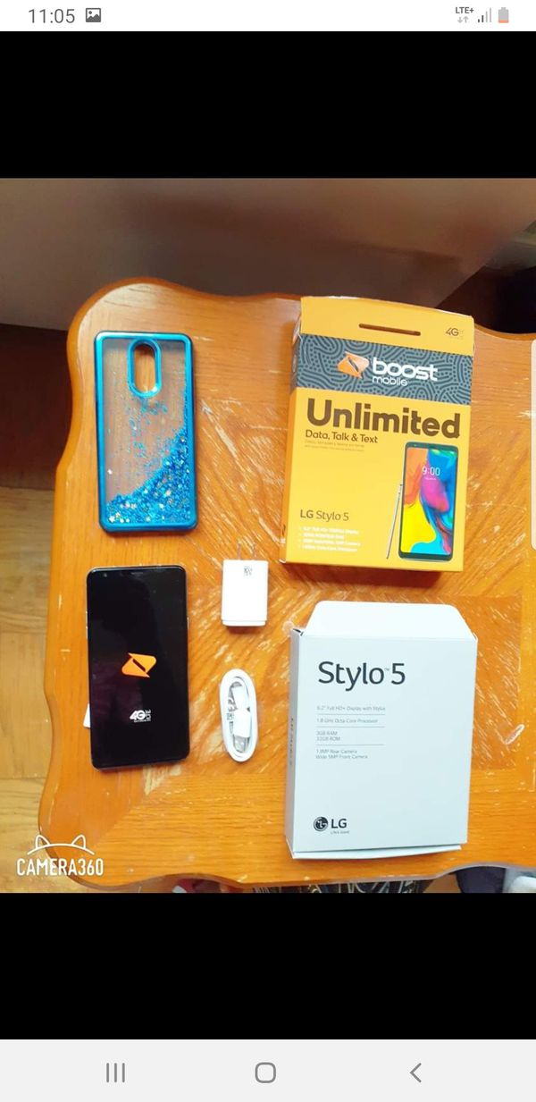 Lg stylo 5 boost mobile