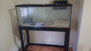 55 gallon tank with some accessories fish tank for Sale in US