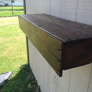 LARGE floating shelf with hidden drawer! for Sale in Eaton, OH