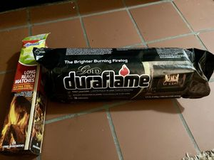 Gold Duraflame + Long Stem Matches / Firewood for Sale in Denver, CO