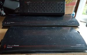 """**RARE** """"OLD SCHOOL"""" PPI (PC) Power Class Amplifiers, DEQ-230 *30 BAND EQ* $ *PACKAGE DEAL* for Sale in Marysville, WA"""