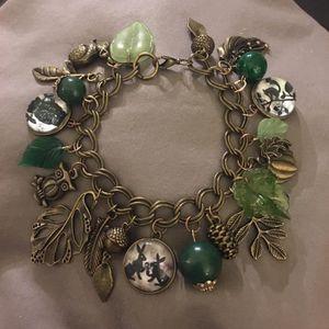 Charm Bracelet Green Autumn Handmade for Sale in Lake Oswego, OR