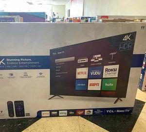 "Brand New TCL ROKU TV! 50"" w/ warranty. Open box FI 1I for Sale in Norwalk, CA"
