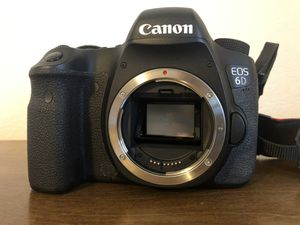 Canon 6D body only (with charger and backpack) for Sale in Hanford, CA