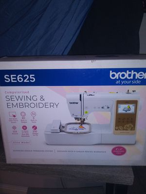 SE625 Brother comp Embroidery/sewing machine for Sale in Mesa, AZ