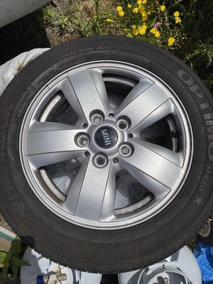 Mini Cooper tires and rims for Sale in Kirkland, WA