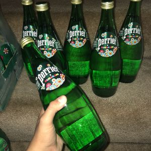 Perrier x Murakami Single Glass Bottles for Sale in Anaheim, CA
