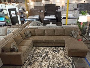 Sectional Sofa with Storage Area, Brown for Sale in Norwalk, CA