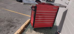 """Snap on tool box roll cart krsc430apjj1 40"""" it is in super nice shape only issue needs lock replacement. Will trade let me know what you have. for Sale in Osteen, FL"""