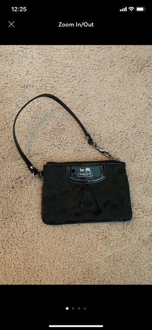 Black Coach Wristlet for Sale in Bloomington, IL