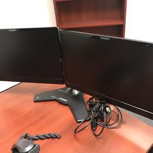 Dual monitors With Stand for Sale in Los Angeles, CA