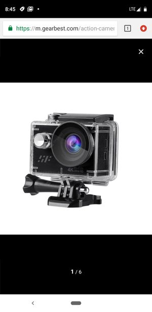 siroflo Ultra HD 4K Action Camera - Black for Sale in New York, NY