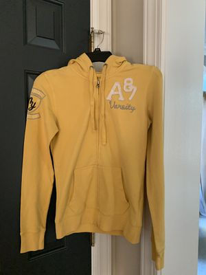 Girl size medium Aeropostale yellow hoodie jacket for Sale in Sully Station, VA