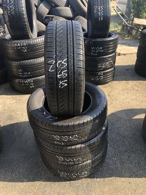 205/65/15 used tires 205-65-15 llantas usadas for Sale in Fontana, CA