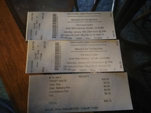 Wynona concert tickets for Sale in Oroville, CA