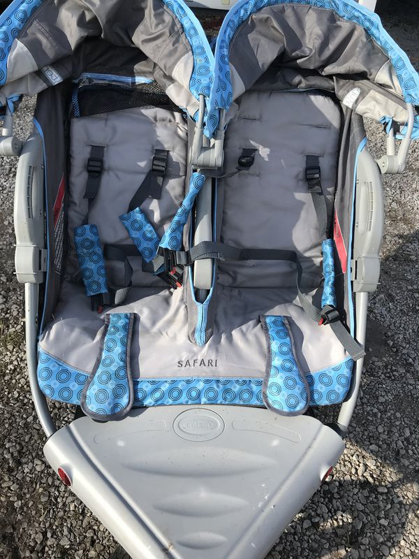 Double stroller. Like new. Used a handful of times.