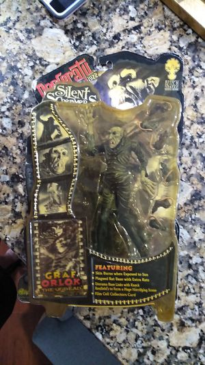 Aztech Toyz Desfaratu Silent Screamers 1922 Graf Orlok The Undead for Sale in Ocean Ridge, FL