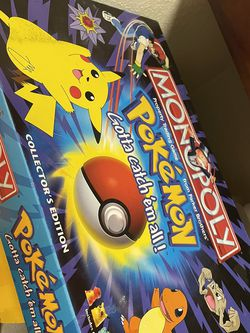 Vintage Pokémon Monopoly (UNSEALED/ NEVER PLAYED) for Sale in Stockton,  CA