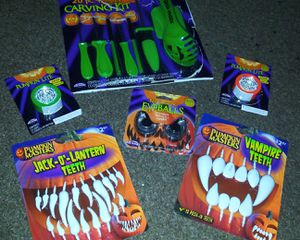 Halloween Pumpkin Carving Kit and Decorations for Sale in Escondido, CA