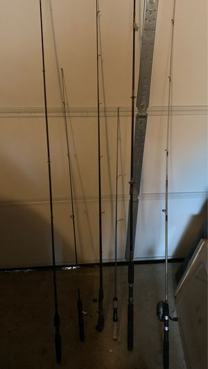 Random fishing rods for Sale in Virginia Beach, VA
