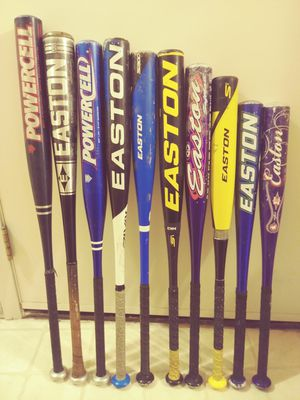 LARGE LOT OF EASTON &WORTH SOFTBALL/BASEBALL BATS for Sale in Pasco, WA
