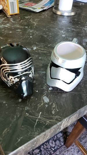 Star Wars savings bank and coffee cup. for Sale in Artesia, CA