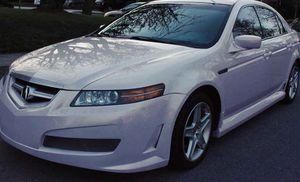 Small Price Sedan O5 Acura TL White Color for Sale in Fresno, CA