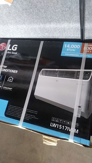 LG 14,000 BTU DUAL inverter smart wifi enabled window air conditioner for Sale in Detroit, MI