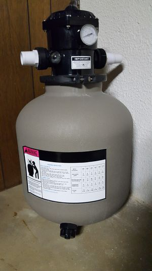 Pool / spa pump sand filter for Sale in Waterford Township, MI