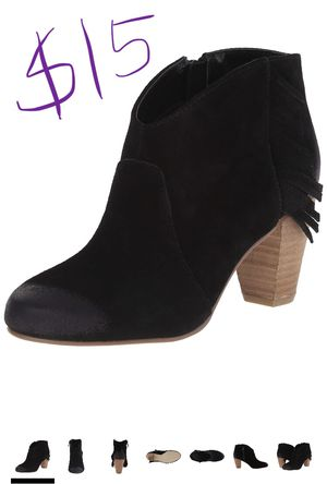 Tahari Camila Suede Ankle Boots 7.5 for Sale in Sacramento, CA