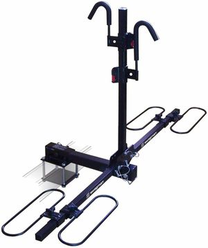 Swagman Traveler XC2 RV Bike Rack with Bumper Mount Adapter - RV Approved - Double Bicycle Racks for Trailer Hitch or Mount for Sale in Thousand Oaks, CA