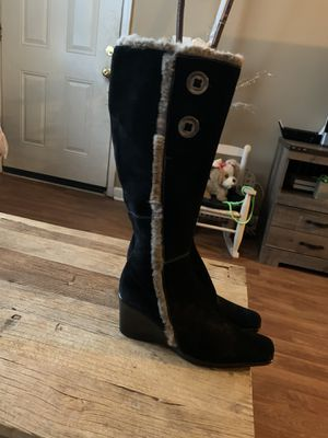 Italian leather Black Boots for Sale in Nashville, TN