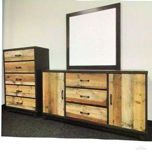 New!! Dresser W/ Mirror,Bedroom,5 Drawer Chest,Furniture,Dresser,2Pc Bedroom Set for Sale in Phoenix, AZ