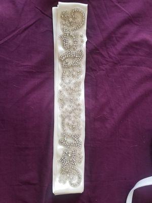 Wedding dress belt for Sale in Hillsboro, OR
