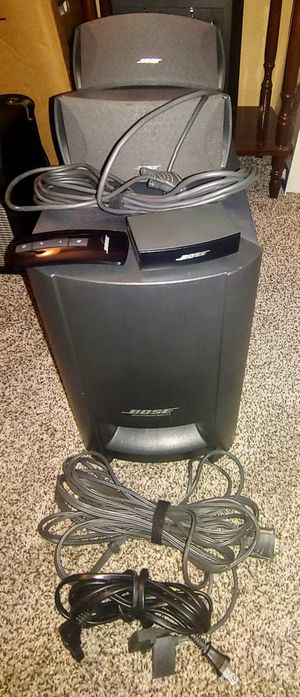 Bose Cinemate and Bose Wave Radio-CD for Sale in Surprise, AZ