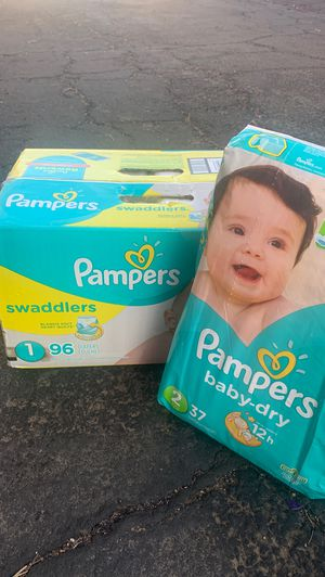 Pampers diapers for Sale in Riverside, CA