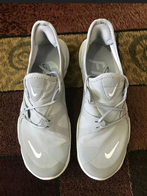 NIKE Free RN 5.0 Wolf Grey/White Running Shoes AQ1289-001 Men's Size 8 for Sale in Signal Hill, CA