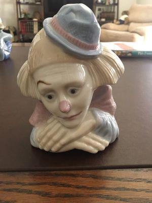 Lladro clown figurine replica for Sale in Redlands, CA